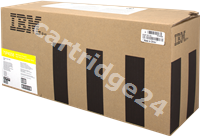Original IBM toner yellow 75P4058