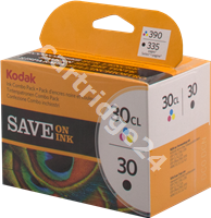 Original Kodak ink cartridge black + colour 8039745 30 + 30