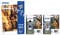 Original Epson value pack bk/c/m/y T130 EPVP 01 T130
