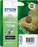 Original Epson ink cartridge magenta (light) C13T03464010 T0346