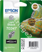 Original Epson ink cartridge black (light) C13T03474010 T0347