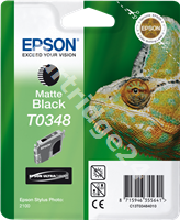 Original Epson ink cartridge black (matte) C13T03484010 T0348
