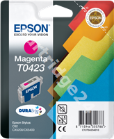 Original Epson ink cartridge magenta C13T04234010 T0423