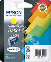 Original Epson ink cartridge yellow C13T04244010 T0424