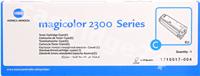 Original Konica Minolta toner cyan 17105174 4576515