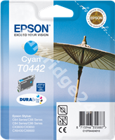 Original Epson ink cartridge cyan C13T04424010 T0442