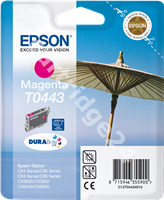 Original Epson ink cartridge magenta C13T04434010 T0443