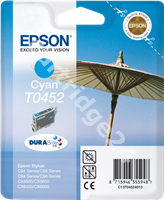 Original Epson ink cartridge cyan C13T04524010 T0452