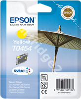 Original Epson ink cartridge yellow C13T04544010 T0454