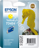Original Epson ink cartridge yellow C13T04844010 T0484