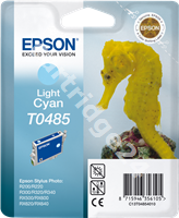 Original Epson ink cartridge cyan (light) C13T04854010 T0485