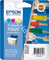 Original Epson ink cartridge colour C13T05204010 SO20089/SO20191