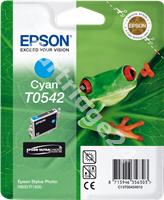 Original Epson ink cartridge cyan C13T05424010 T0542