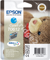 Original Epson ink cartridge cyan C13T06124010 T0612