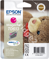 Original Epson ink cartridge magenta C13T06134010 T0613