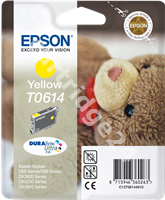 Original Epson ink cartridge yellow C13T06144010 T0614
