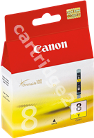 Original Canon ink cartridge yellow CLI-8y 0623B001