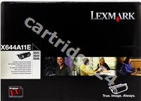 Original Lexmark toner black X644A11E