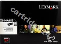 Original Lexmark toner black X644H11E