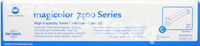 Original Konica Minolta toner cyan 8938-624 8938624