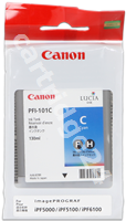 Original Canon ink cartridge cyan PFI-101c 0884B001