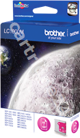 Original Brother ink cartridge magenta LC-1000m