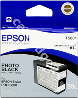 Original Epson ink cartridge black (photo) C13T580100 T5801