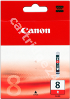 Original Canon ink cartridge red CLI-8r 0626B001