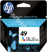 Original HP ink cartridge colour 51649AE 49