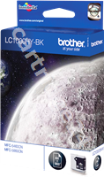 Original Brother ink cartridge black LC-1000hybk