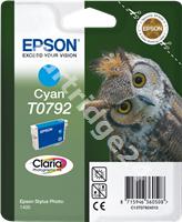 Original Epson ink cartridge cyan C13T07924010 T0792