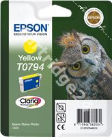 Original Epson ink cartridge yellow C13T07944010 T0794