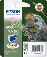 Original Epson ink cartridge magenta (light) C13T07964010 T0796