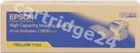 Original Epson toner yellow C13S051124 S051124