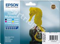 Original Epson multipack bk/lc/c/lm/m/y C13T04874010 T0487
