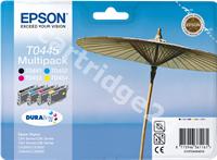 Original Epson multipack bk/c/m/y C13T04454010 T0445