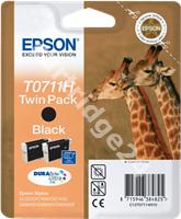 Original Epson ink cartridge black C13T07114H10 T0711H