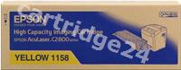 Original Epson toner yellow C13S051158 S051158