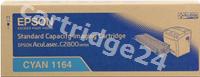 Original Epson toner cyan C13S051164 S051164