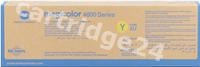 Original Konica Minolta toner yellow A0DK252
