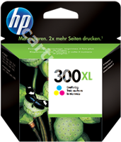 Original HP ink cartridge colour CC644EE 300 XL