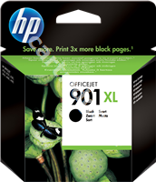 Original HP ink cartridge black CC654AE 901 XL
