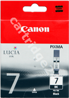 Original Canon ink cartridge black PGI-7bk 2444B001