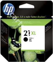 Original HP ink cartridge black C9351CE 21XL