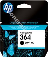 Original HP Tintenpatrone schwarz CB316EE 364