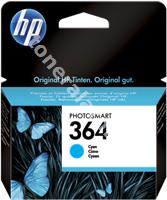 Original HP Tintenpatrone cyan CB318EE 364