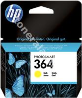 Original HP Tintenpatrone gelb CB320EE 364