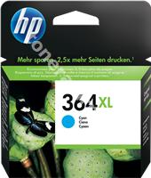 Original HP Tintenpatrone cyan CB323EE 364 XL