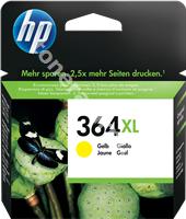 Original HP Tintenpatrone gelb CB325EE 364 XL