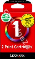 Original Lexmark ink cartridge colour 80D2955 No.1